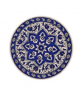 Pote de cerâmica tapete turco - redondo