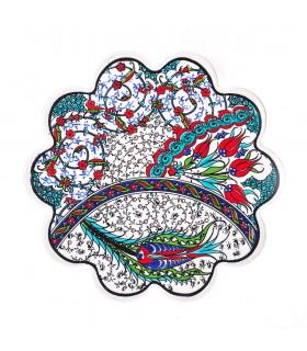 Salvamantel Cerámica Turca - Flor
