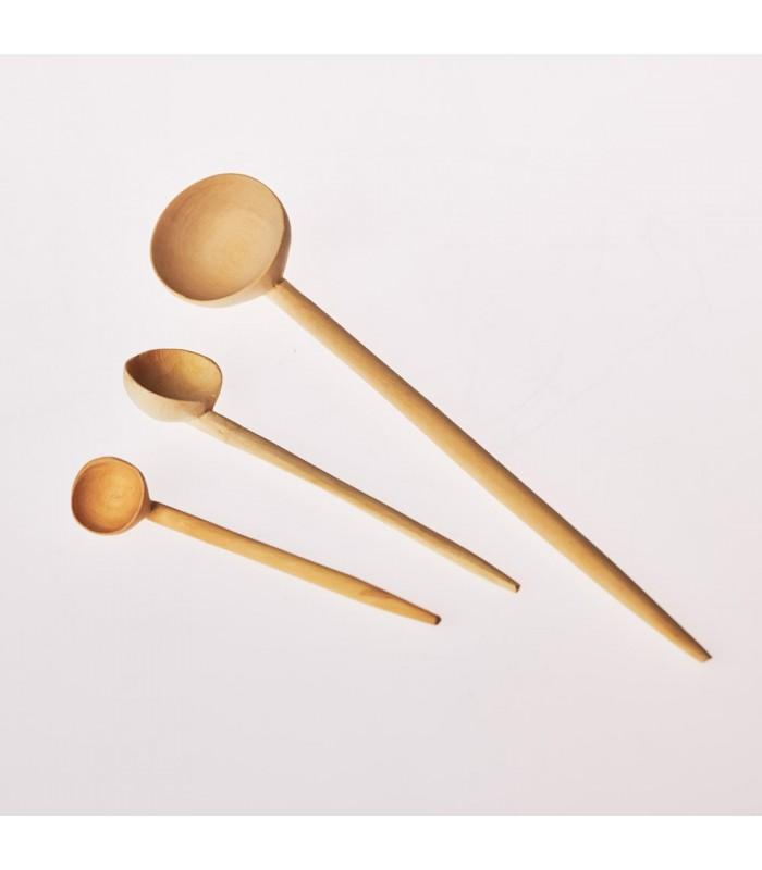 Taster spoon - wood lemon 100% handmade