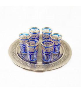 Игра 6 стаканов чая Фатх модели 1 - различные цвета