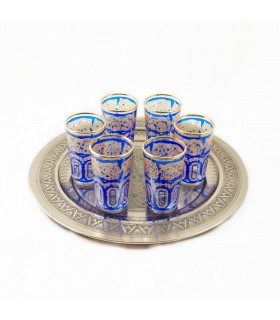 Spiel 6 Gläser Tee FATH Modell 1 - verschiedene Farben