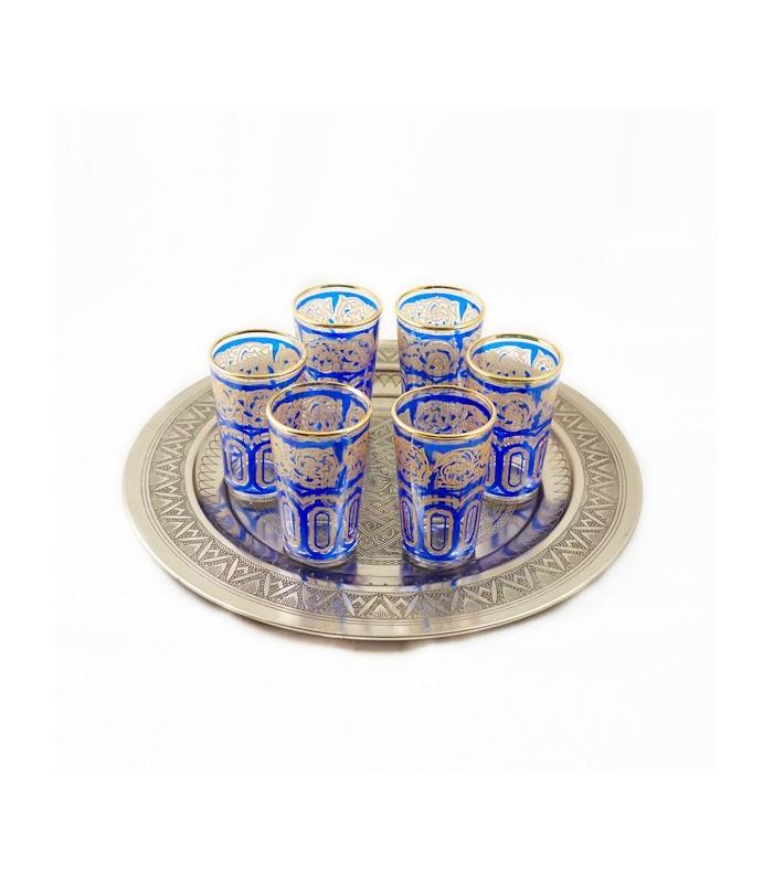 6 Tea Glasses Model FATH 1 - Several Colors