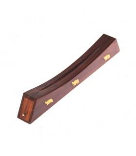 Incenso queimador madeira - gôndola - 30'5 cm