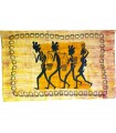 Cotton Fabric India-On the Way to the Market -Artesana-140 x 210 cm
