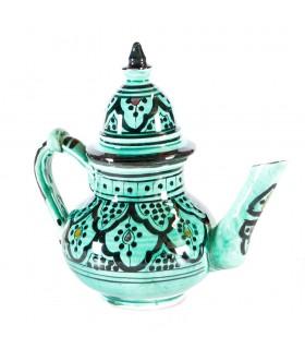 Arab Ceramics Teapot - 2 Pieces - Hand Painted