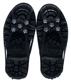 Protective non-slip boots - 5 buttons - Adaptable to various sizes for