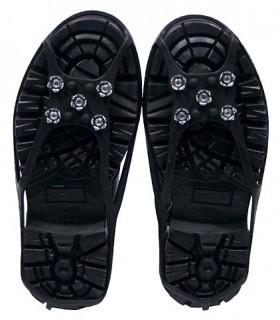 Protector antideslizante para bota -  5 botones - Adaptable a varias tallas