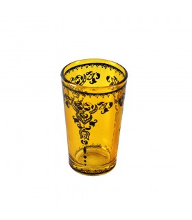 Tasses à thé jeu 6 imprime design - filigrane Floral henné - Touareg
