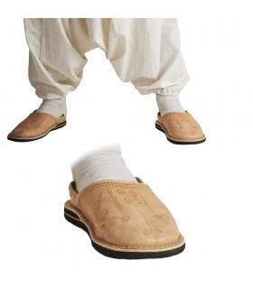 Pantofole in pelle - vari colori - N. 38-44