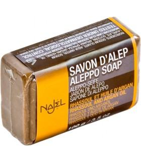 Jabón De Alepo - Con Rhassoul Y Aceite De Argán - 100 g
