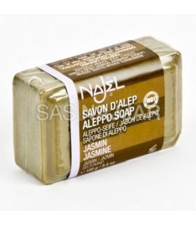 Natürliche Seife - Olive und Lorbeer mit Jasmin Damaskus - Aleppo-100gr