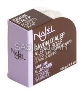 Formato di Aleppo SOAP - gelsomino - Deluxe - 100g