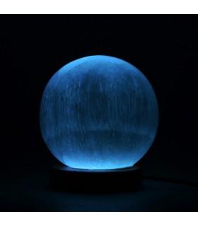 Lámpara Selenita Esfera - USB