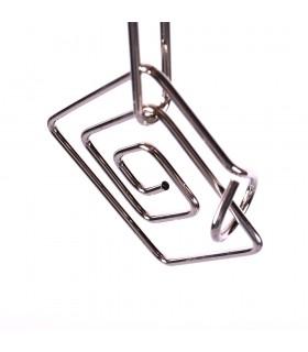 Sagacidade quadrado espiral - jogo de quebra-cabeça de caixa - vários modelos-