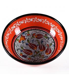 Bacia Turco - pintado à mão em relevo - diversos modelos