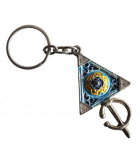 Keychain Tuareg - triângulo - várias cores