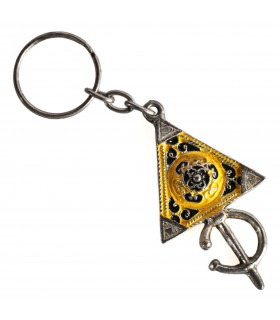 Keychain Tuareg - triangle - various colors