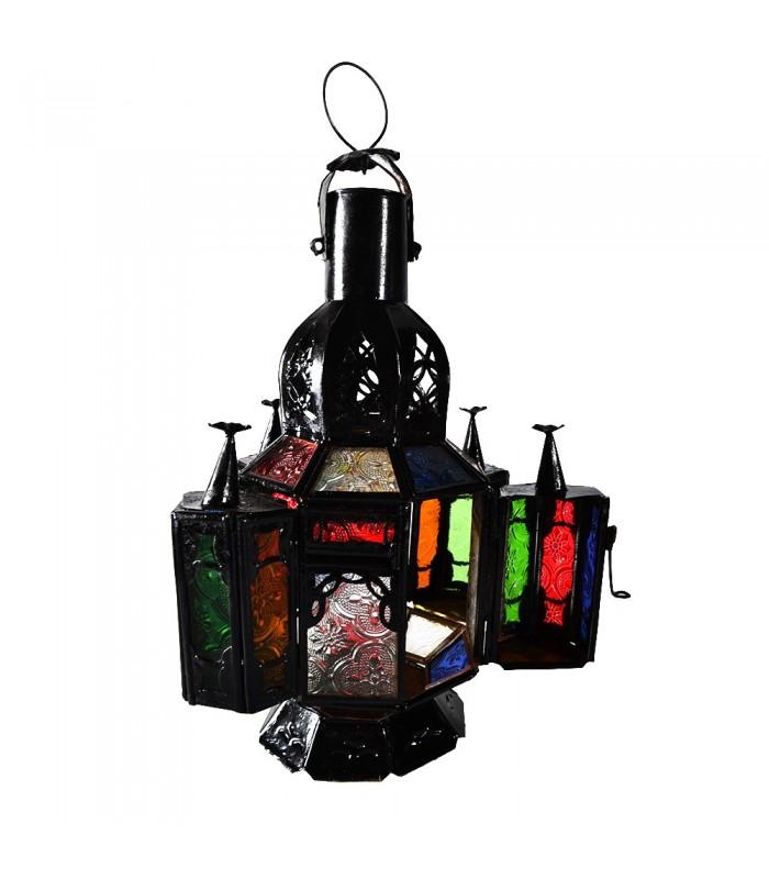 lampe de table ou pendentif multicolore jaima alkauzar. Black Bedroom Furniture Sets. Home Design Ideas