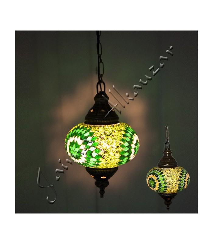 Lampara Turca - Cristal Murano - Mosaico - Gran Calidad - 25 cm