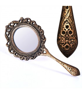 Hand Mirror Bronze Foundry