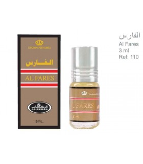 Perfume - Al Fares - Sin Alcohol - 3 ml