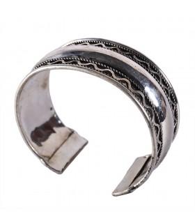 Espiral de pulseira chapeado - novidade