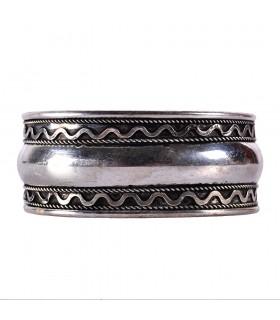 Позолоченный браслет спираль - Новинка