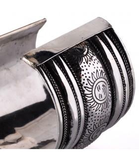 Pulseira de prata - sóis - novidade