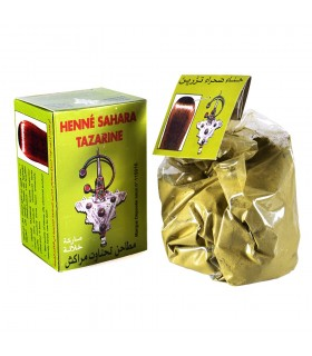 Henna Natural - Sahara - for hair - great quality - Natural - Tararine 80 g