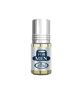 Roll On - 3 ml de parfum - pour hommes-