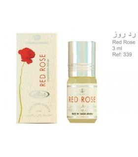 Perfume - rosa vermelha - rolo na - 3 ml