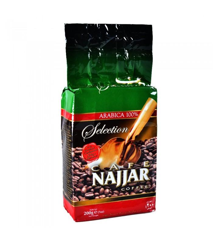 Café - NAJJAR - Arábica 100% Con Cardamomo Molido - 200 g