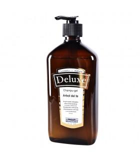 Champu-gel - arbre à thé - cosmétiques naturels - Deluxe - 500 ml