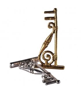 Unterstützung - Bronze Räuchergefäß oder Nickel - 12 cm