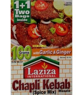 Chapli Kebab - Kebab - cozinha Índia - especiarias 100g