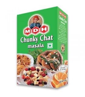 Chunky Chat Masala - especiarias salada mista e salgada - 100g