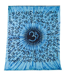 India-Cotton- OM -Artisan-210 x 240 cm