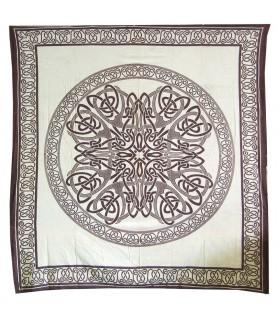 Tela Algodon India-Mandala -Artesana-210 x 240 cm