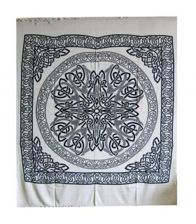 Índia-Sphere tecido de algodão geométrica-Artisan-210 x 240 cm