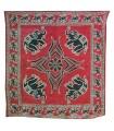 Inde-Elefante Floral -Artisan-240 x 210 cm