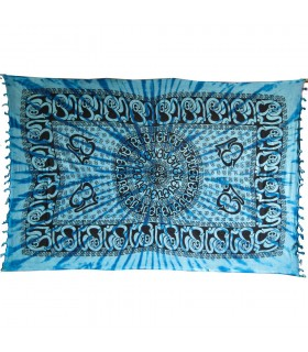 Fabric India Ohm fringes - 140 x 210 cm