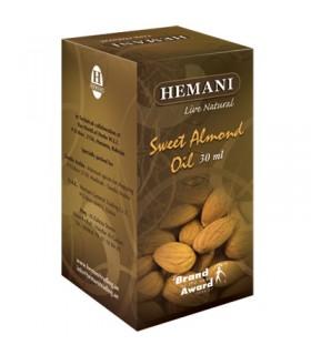 Huile d'amande douce - HEMANI - 30 ml