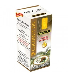 Aceite De Coco - HEMANI - 100% Natural - 60 ml
