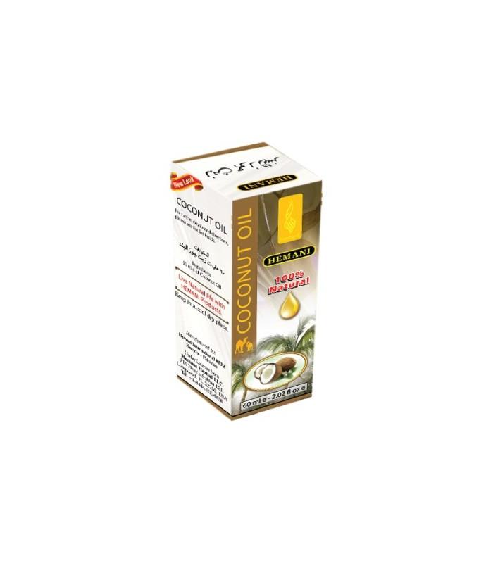 Aceite De Coco - HEMANI - 100% Natural - 60 ml
