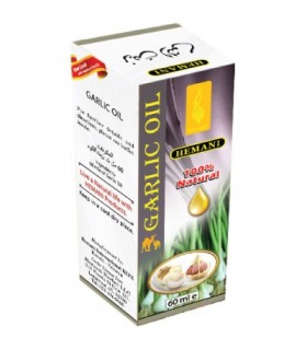 Ail - HEMANI - 100 % naturel - huile 60 ml