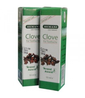 Clove oil - Dental care - HEMANI - 10 ml