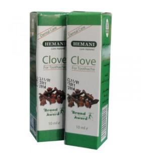 Clove oil - Dental care - HEMANI - 10 ml