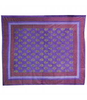 Africano Algodon-estampado 2 tessuto - qualità speciale - 220 x 256 cm