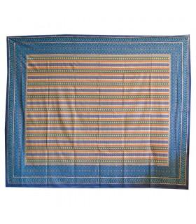 Tela Algodón - Estampado Africano- Calidad Especial-220 x256 cm