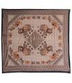 Tecido de algodão Índia - elefantes Rhombus - artesão-210 x 240 cm
